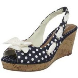 New Sperry Top-Sider Southport Slingback Wedge 8